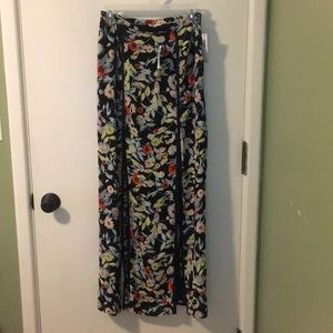 Volcom PacSun Floral Maxi Skirt